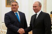 Премьер-министр Венгрии Виктор Орбан и президент РФ Владимир Путин.