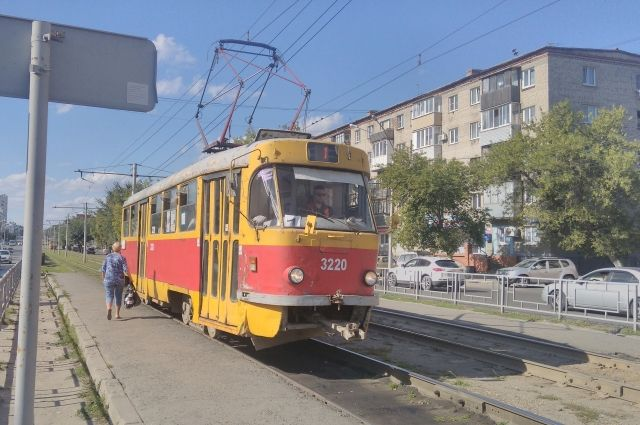 Из-за ремонта трамваи пойдут другим путем.