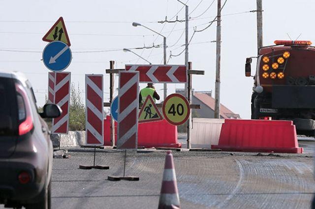 С 21 сентября из-за дорожного ремонта ограничат движение на ул. Ломоносова.