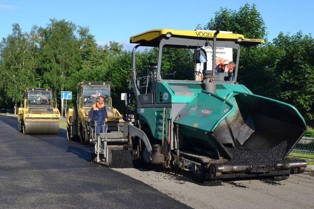 Дорожный ремонт завершится в октябре.