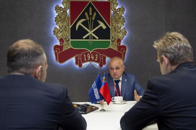 Договорённости с российским бизнесом и заграничными партнёрами призваны освежить экономику Кузбасса.