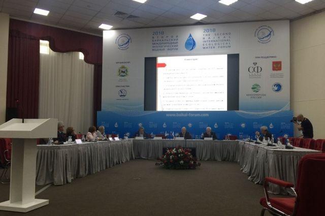 На конгрессе в следующем году будут говорить о защите водных ресурсов.