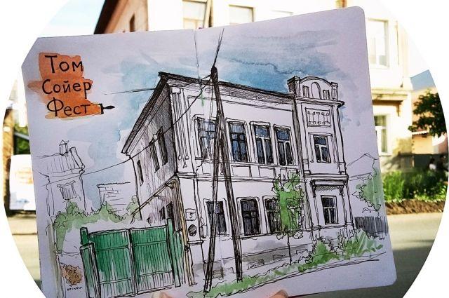 В Оренбурге у дома авангардиста Калмыкова пройдет «сушка» на лесах