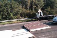 На Бориспольском шоссе из-за аварии образовался огромный затор