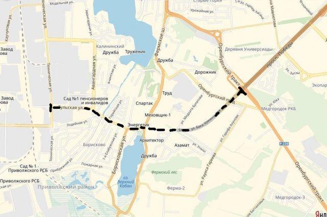 Трамвайные пути проложат от Оренбургского тракта до ул. Технической