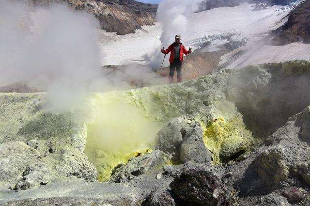 Вулканы Камчатки - живой организм.