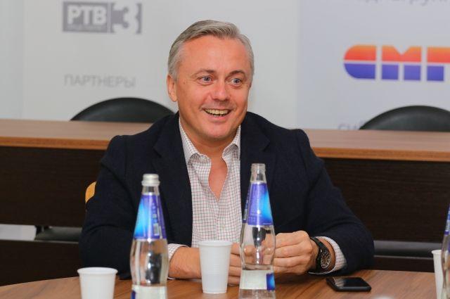 Генеральный директор издательского дома «Аргументы и Факты» Руслан Новиков