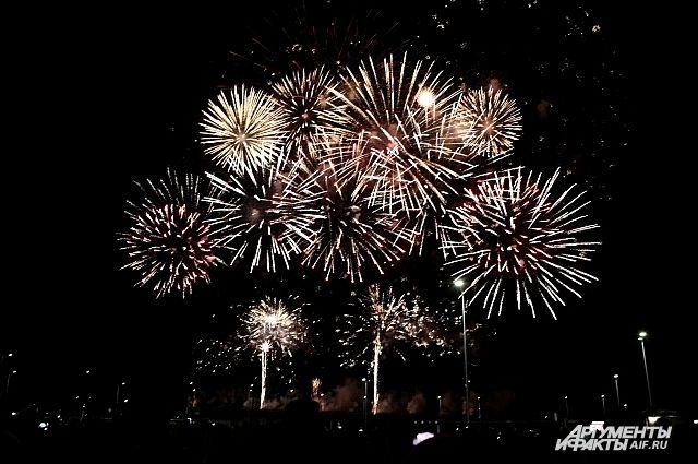 В Калининграде 22 сентября продолжится Мировой чемпионат фейерверков.