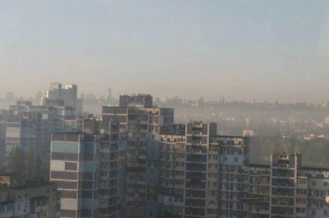 Спасатели объяснили происхождение смога в Киеве
