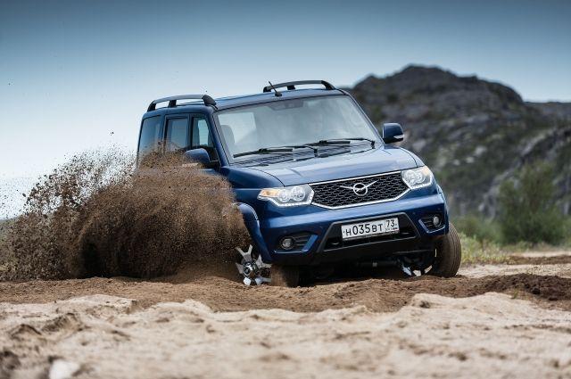 УАЗ начал производство обновленного внедорожника «Патриот»