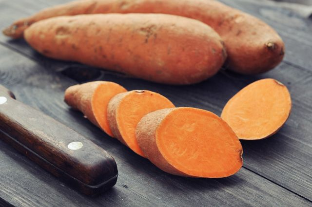 Оранжевый и в кожуре. Что приготовить из батата
