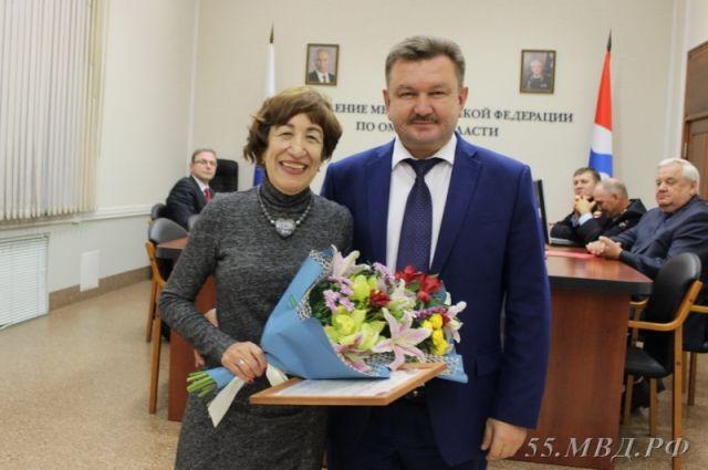 Валентина Соколова и Леонид Коломиец.
