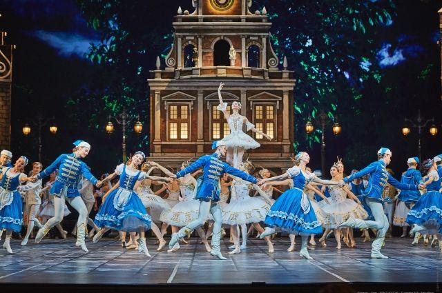 В НОВАТе - премьера комедийного балета.