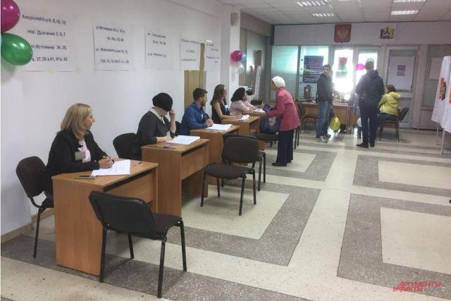 На избирательных участках постепенно затухает активность граждан