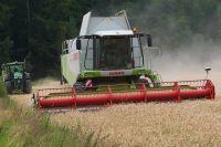В Исетском районе обмолотили 75% зерновых и зернобобовых культур