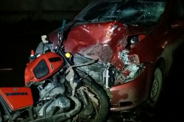 Водитель Chevrolet не пострадал.