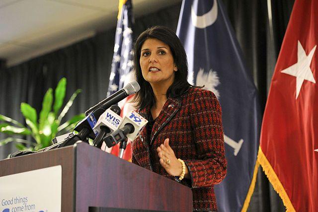 Хейли заявила, что уход Асада — «вопрос времени»