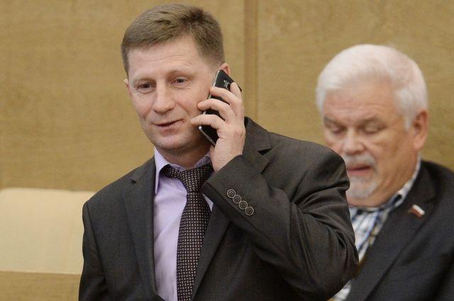 Хабаровский избирком назвал Фургала победителем выборов