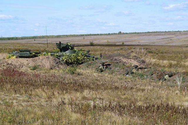 На Тоцком полигоне мотострелки уничтожили условного врага.