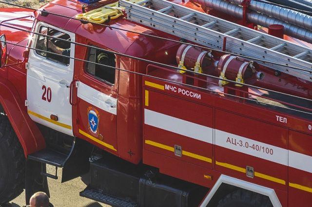 При пожаре на складе в Мытищах погибли двое граждан Узбекистана