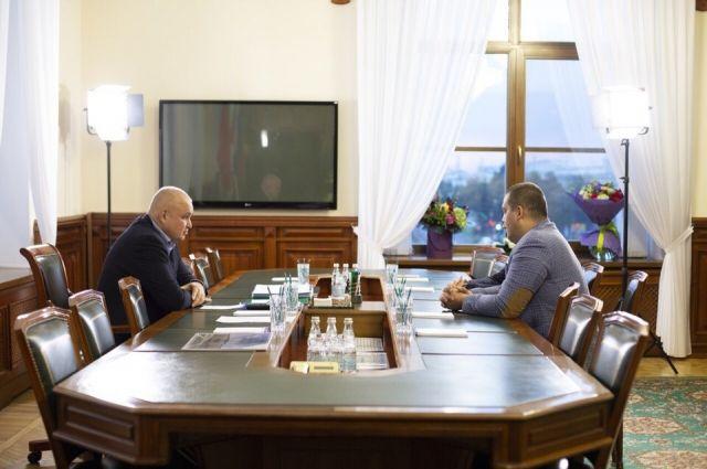 Умар Кремлев посетил Кузбасс с рабочим визитом.
