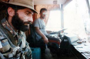 «Ногайским батальоном» руководили Шамиль Басаев (слева) и арабский наёмник Эмир Хаттаб.