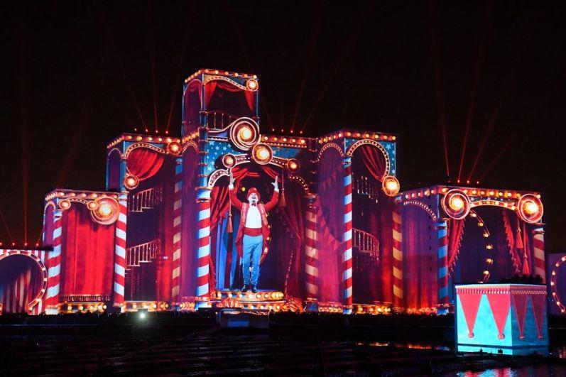 Церемония открытия международного фестиваля «Круг Света» на Гребном канале.