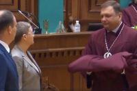 Новые судьи Конституционного суда приняли присягу в присутствии Порошенко
