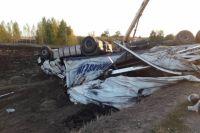 В Северном районе в ДТП с двумя фурами погиб водитель Volvo.
