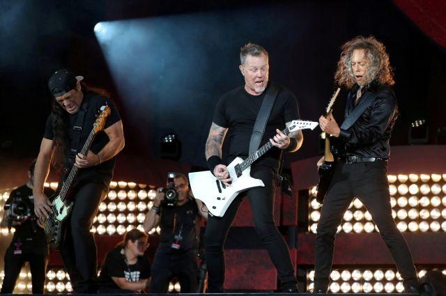 В предстоящем году в российской столице выступит Metallica