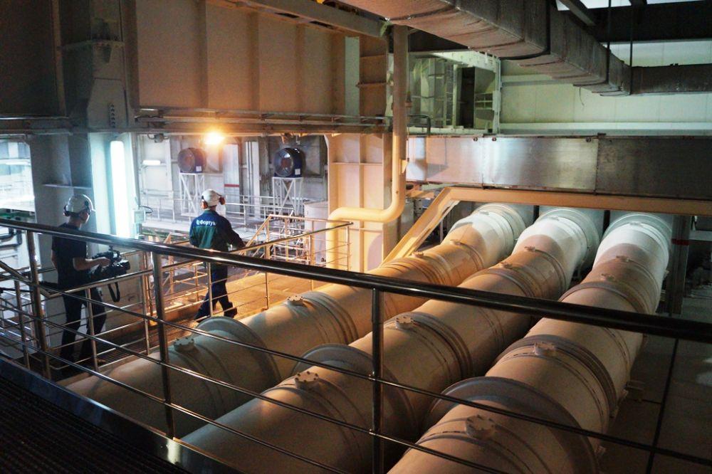 Трубы с газом занимают на ГРЭС территорию в сотни гектар.