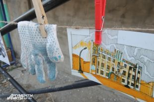 В Оренбурге у дома художника Сергея Калмыкова прошла «Сушка».
