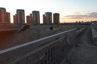 В Тюмени мост через Туру по улице Мельникайте готов на 85%