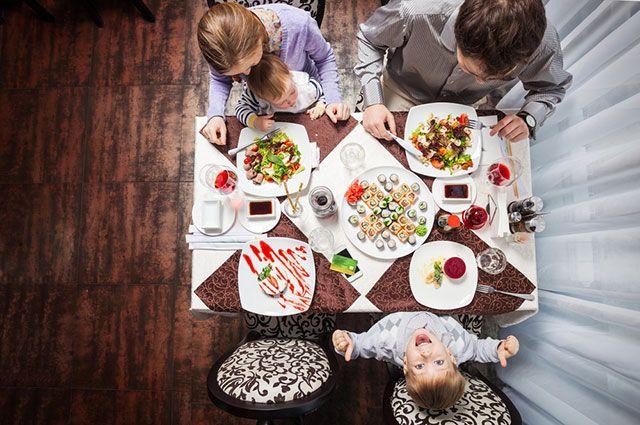 В ресторан с ребёнком. Куда пойти и какие блюда выбрать?