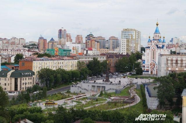 Сегодня в Хабаровске возможен небольшой дождь.