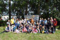 Летом члены «Семейного очага» организовали коллективный турслёт за городом.
