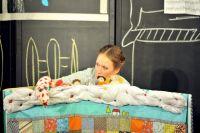 Актриса театра «Арлекин» Ирина Сергеева создала спектакль для самых маленьких.
