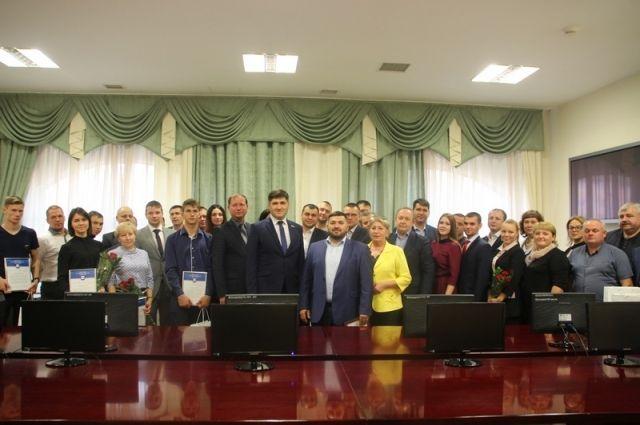 В Салехарде наградили участников экологических акций региона