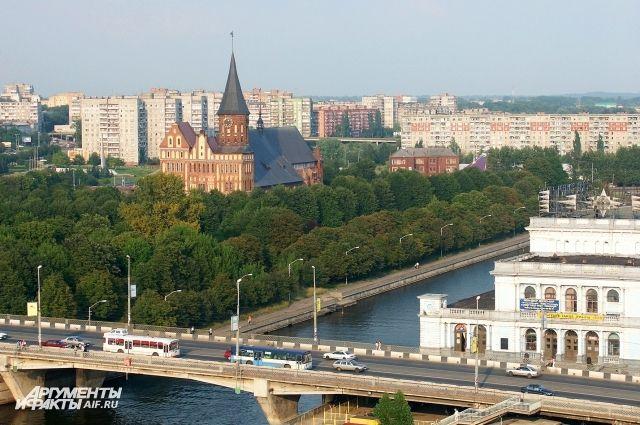 Из-за эстафеты огня зимней Универсиады в Калининграде перекроют часть улиц.