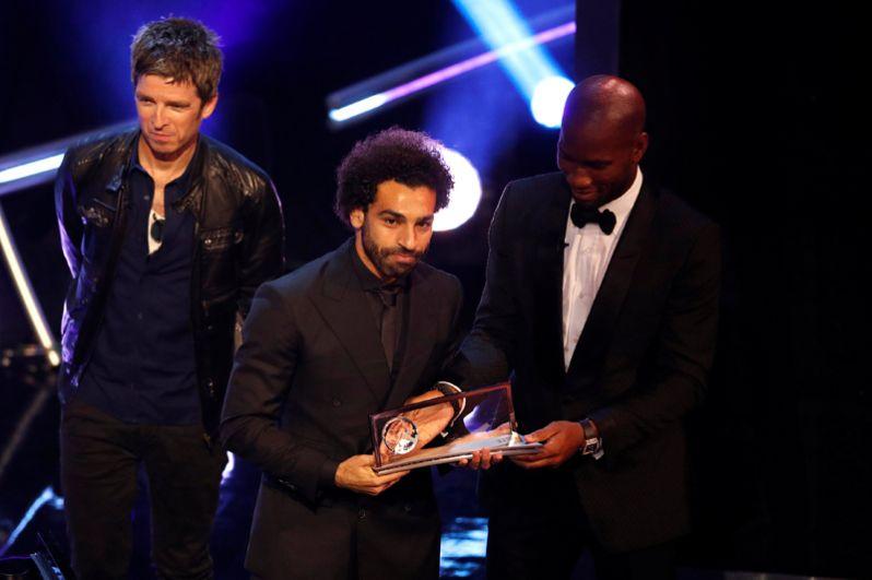 Мохамед Салах получил премию имени Ференца Пушкаша за самый красивый гол года.