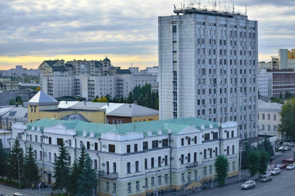 Деловой центр Омска.