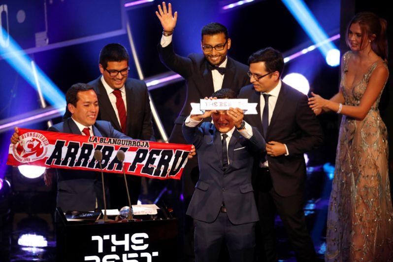 Лучшими фанатами были признанны болельщики из Перу.