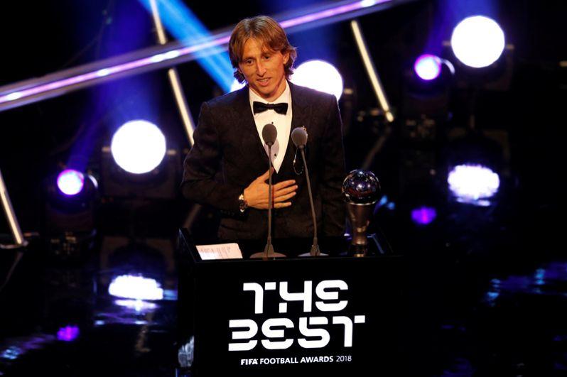 Лучший футболист года — Лука Модрич.