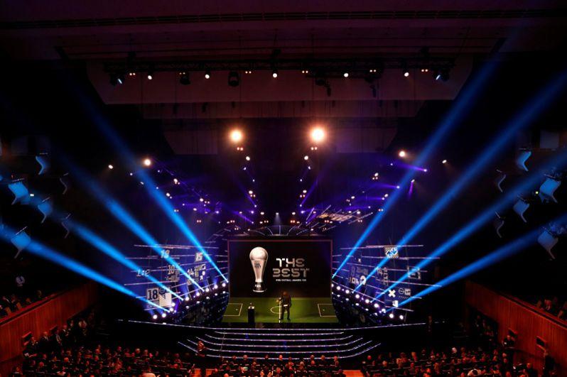 Церемония вручения наград ФИФА.