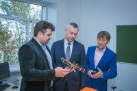 Андрей Травников посетил Сибирский государственный университет геосистем и технологий