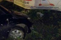В Тобольске девушка угнала и разбила автомобиль подруги
