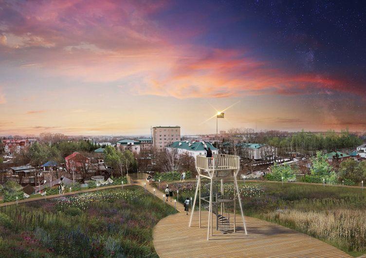 Преображение центра Бугульмы.