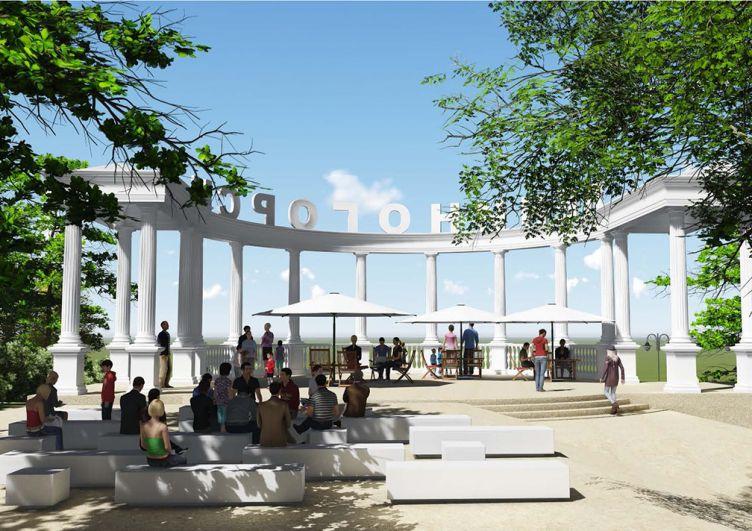 Вот так после реконструкции будет выглядеть парк культуры и отдыха имени Горького в Лениногорске.