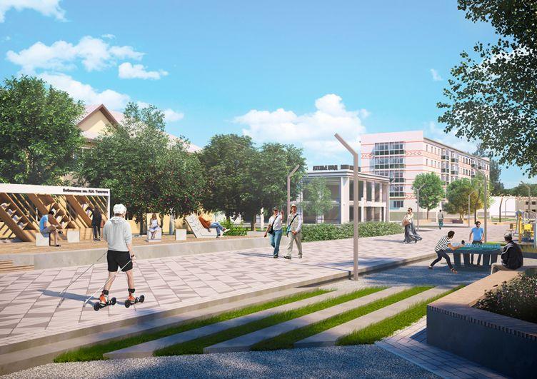 Концепция реновации улицы Сююмбики в Азнакаево.