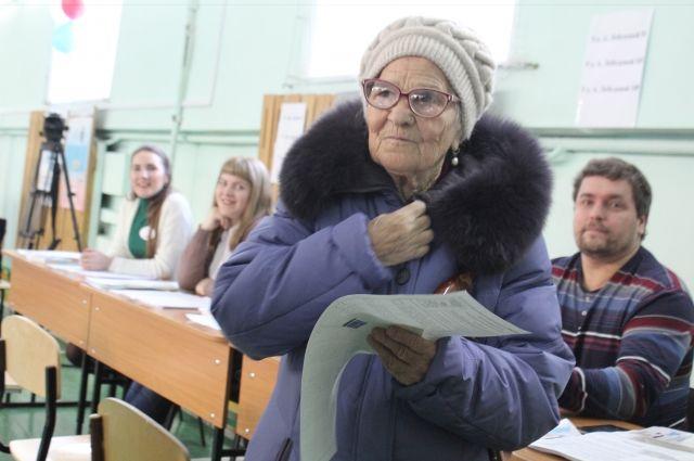 Елена Ерхова на выборах президента.